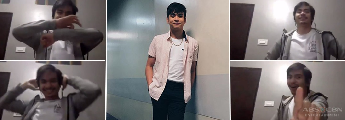 Jairus Aquino takes on popular TikTok dance challenges