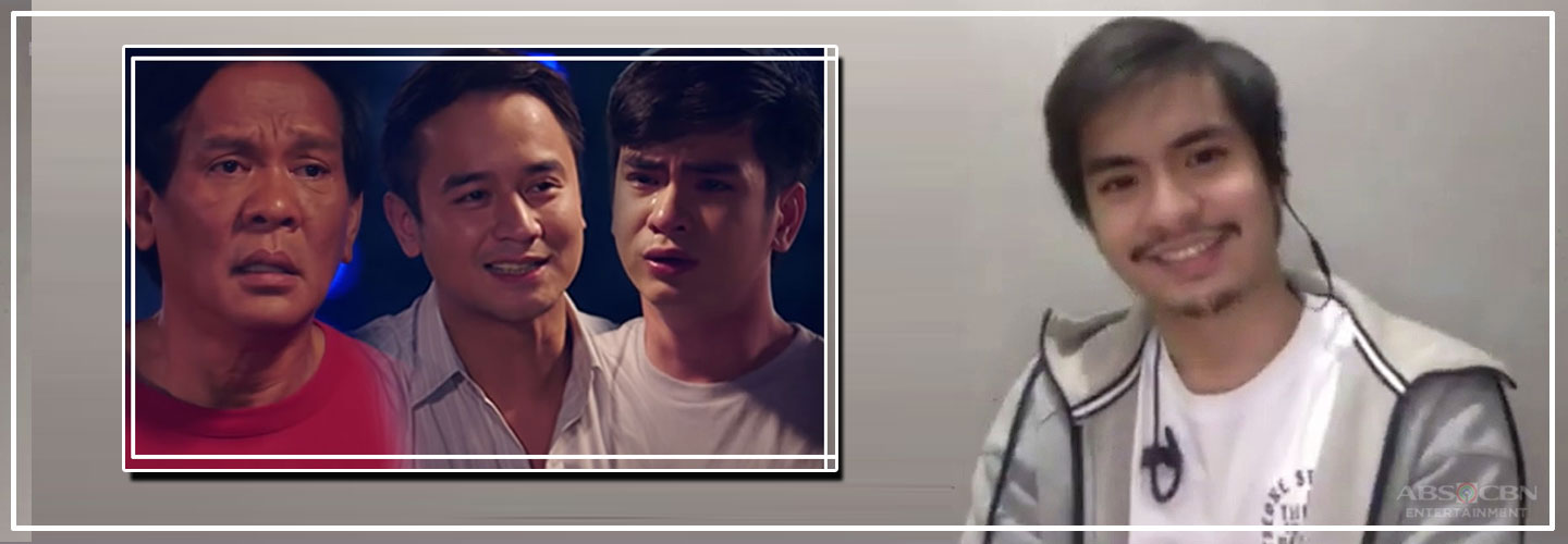 Jairus Aquino reacts to his much talked about scene with JM and Joey on Pamilya Ko