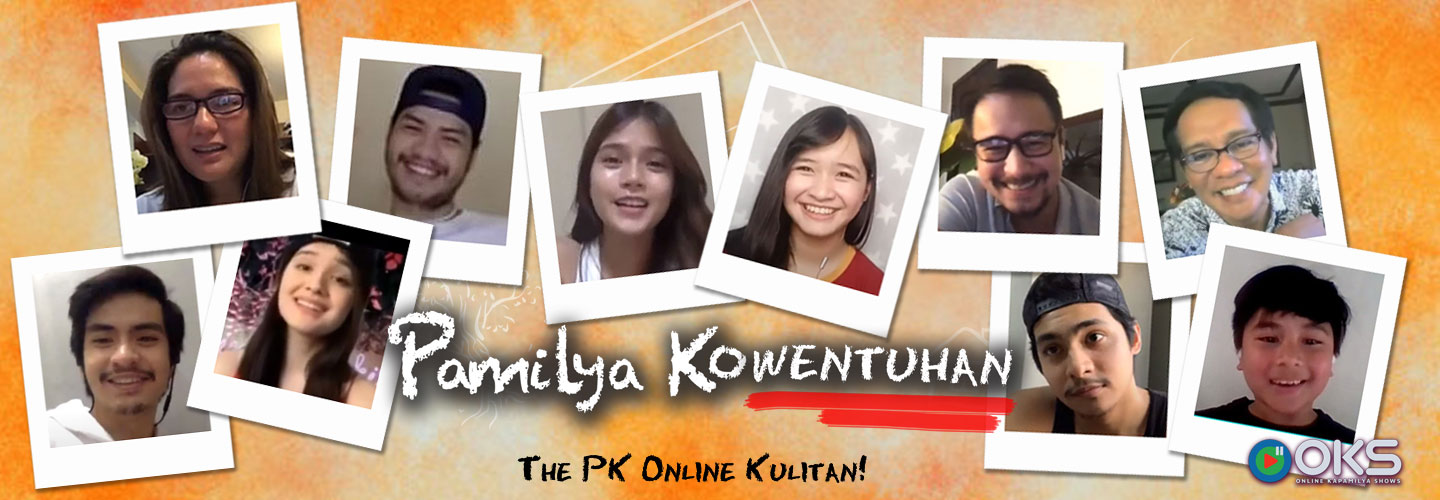 Mabunga family enjoys online reunion in Pamilya Kowentuhan on OKS