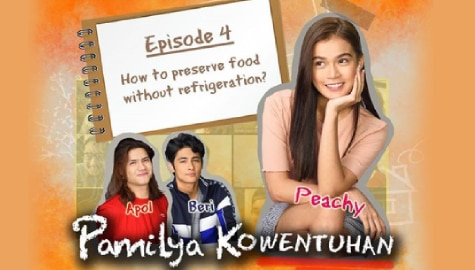 No ref? No problem! Maris demonstrates food preservation methods in Pamilya Kowentuhan!