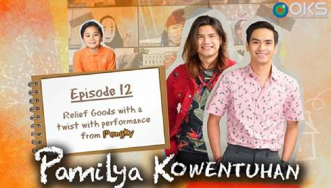Kid cooks yummy tuna patties out of relief goods on Pamilya Kowentuhan