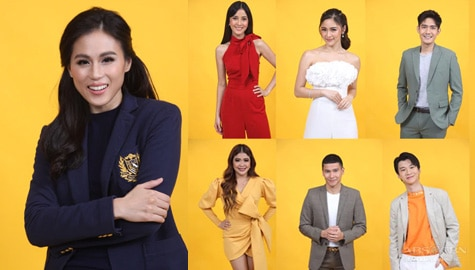 "Toni, Robi, Bianca, Kim, Melai, Enchong, and Richard, join forces as hosts of ""PBB Connect"""