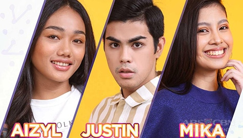 Housemates Aizyl, Justin, and Mika are up for eviction on PBB Connect