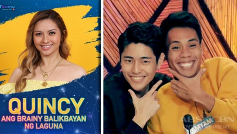 Quincy exits 'PBB' house as Yamyam and Fumiya connect with Big Brother this week