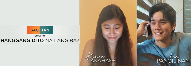 """Kiara Takahashi and Ian Pangilinan topbill """"Hanggang Dito Nalang Ba?"""" episode in """"Sagutan"""""""