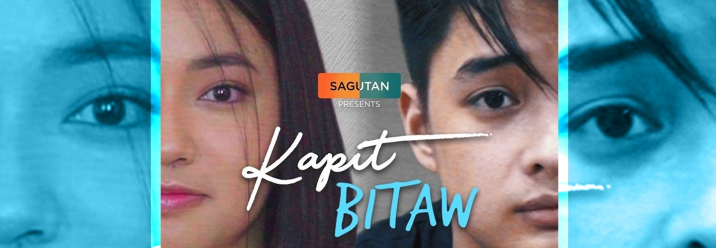 """Angela Tungol and Lance Carr share the two sides in a struggling relationship for Sagutan' """"Kapit, Bitaw"""""""