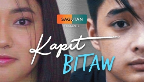 "Angela Tungol and Lance Carr share the two sides in a struggling relationship for Sagutan' ""Kapit, Bitaw"""