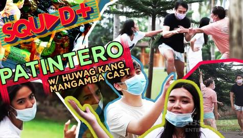 WATCH: Patintero with Huwag Kang Mangamba Cast | The Squad+ Image Thumbnail