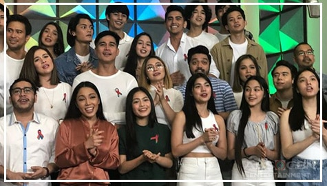 """Hawak Kamay"" featuring the Star Magic Family"
