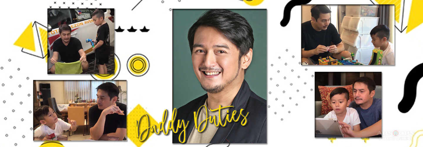 Dominic Ochoa excels at 'daddy duties' during quarantine period!
