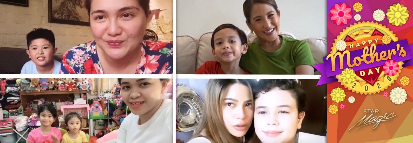 Mothers' Day 2020: Supermoms Dimples, Jolina, Melai and Denise's bonding moments with their kids