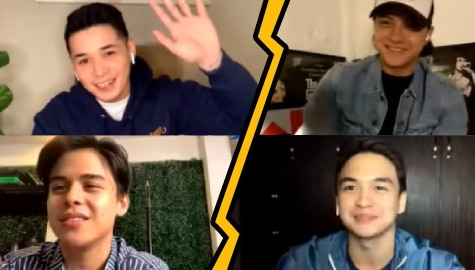 Buddies Daniel, Patrick, Khalil, Dominic share insights on bullying, being friends with exes and more on Star Magic Face Off