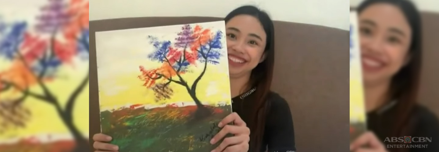 Maymay Entrata sharpens artistic skills during the quarantine