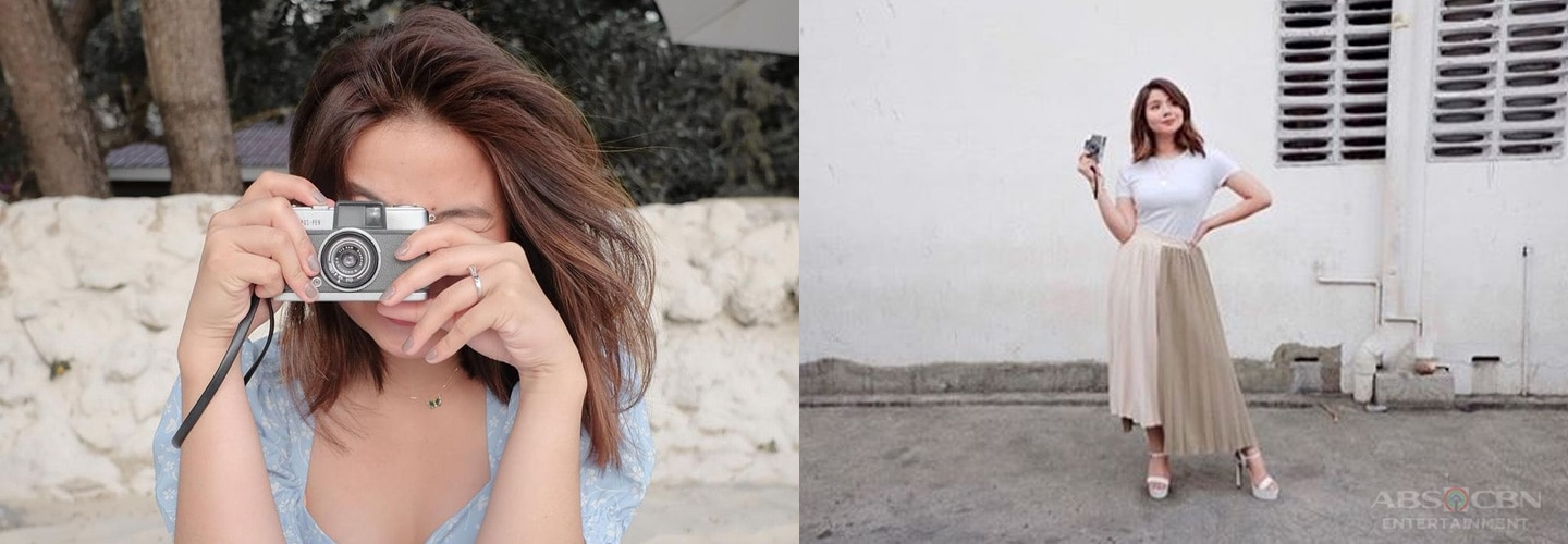 Miles Ocampo proves she's a shutterbug with classic film camera collection
