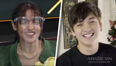 Andrea receives heartwarming words from Seth in kilig video message as she signs Star Magic contract