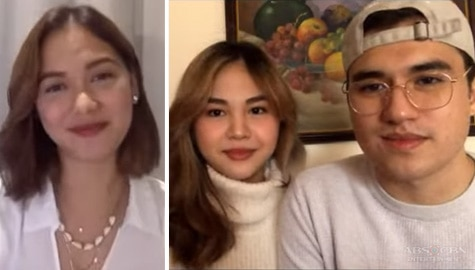 WATCH: Janella, Markus share love story, new life as parents in Star Magic exclusive with Maja