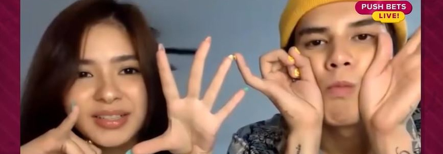 """WATCH: LoiNie asked if they see each other as """"The One"""" in the Put a Finger Down Challenge"""