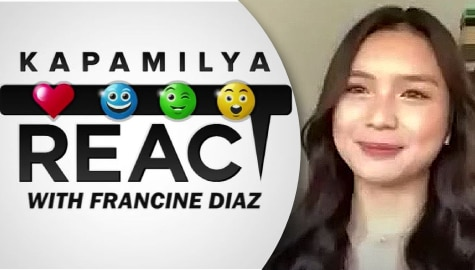 Francine Diaz shares honest review of acting skills as she reacts to her past portrayals
