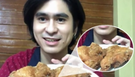 Fall in love with CJ Navato as he demos chicken specialty