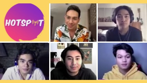 Newly-signed Star Magic talents gamely take on Hotspot's First and Last Challenge