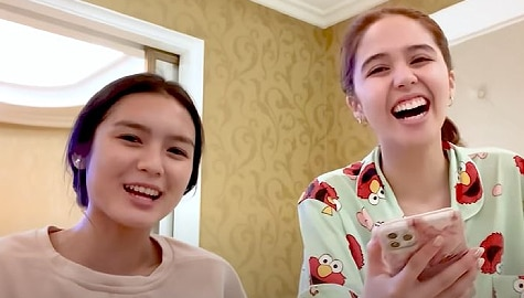 """Francine takes on """"Who's Most Likely To"""" Challenge with bestie Jayda in latest vlog"""