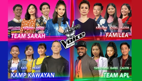Top 12 artists of 'The Voice Teens' compete to become grand champion in finale weekend