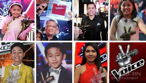 THROWBACK: Triumphant, iconic The Voice of the Philippines Grand Winners through the years