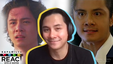 JC Santos reacts to his memorable portrayals, wowed by his own performances from years back