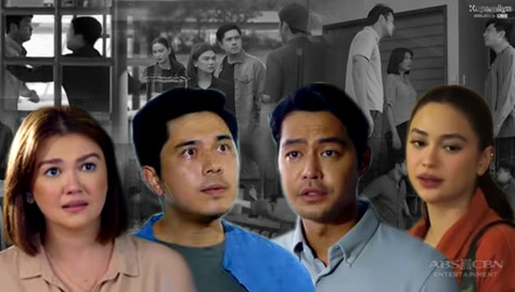 5 most intense confrontations of Emman, Sam, Anton, and Celine in Walang Hanggang Paalam