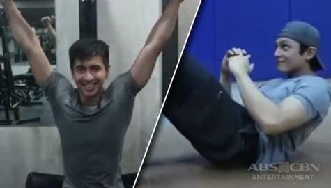 Workout with a Twist Joseph Marco RK Bagatsing