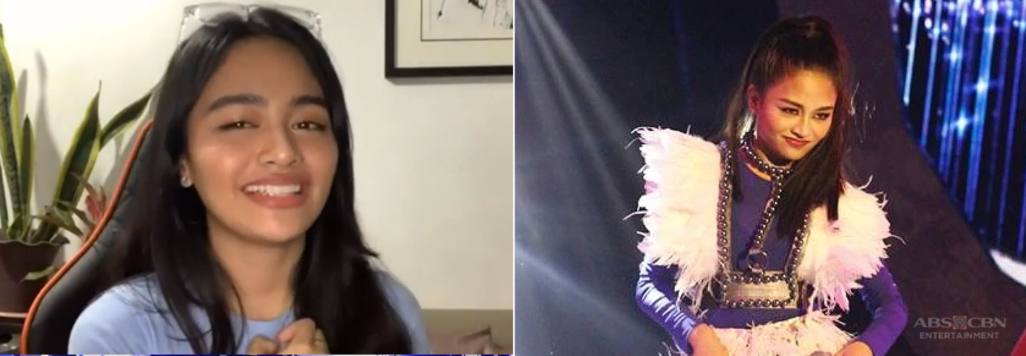 Here's Vivoree Esclito's reaction to comments about her Sarah G performance on Your Face Sounds Familiar Week 1