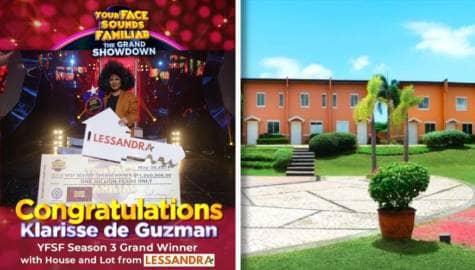 Lessandra awards brand new house to Klarisse