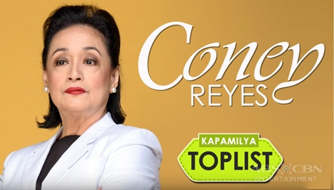 Kapamilya Toplist: Coney Reyes' Memorable TV Roles Image Thumbnail