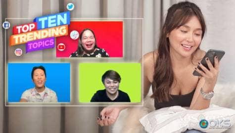 "4Ts: Kathryn Bernardo responds to bashers calling her ""pabebe"" and ""sakang"" Image Thumbnail"