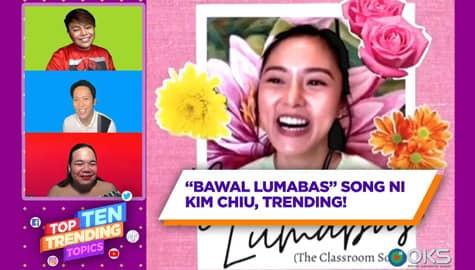 """4Ts: """"Bawal Lumabas"""" song ni Kim Chiu, trending! Image Thumbnail"""