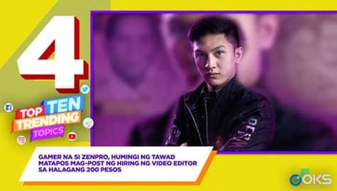 4Ts: Gamer na si Zenpro, humingi ng tawad matapos mag-post ng hiring for video editor sa halagang 200 pesos Image Thumbnail