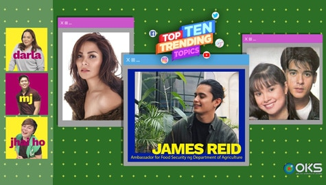 4Ts Top Ten Trending Topics: James as DA ambassador, KC's health condition, LeAga fans, & more! | Episode 5 Image Thumbnail