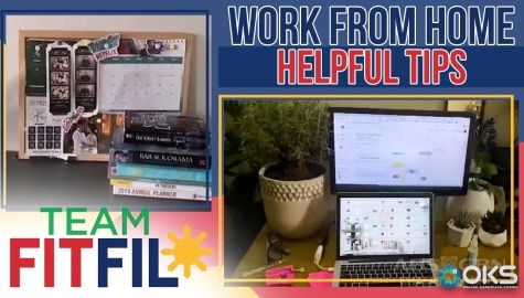Tips to Survive the Work-From-Home Setup | Team FitFil Episode 17 Image Thumbnail