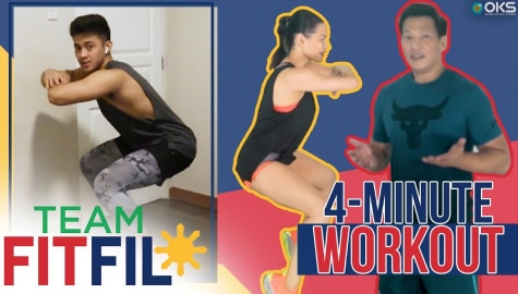 4-Minute Calf Exercises with Argel Saycon | Team FitFil Episode 23 Image Thumbnail