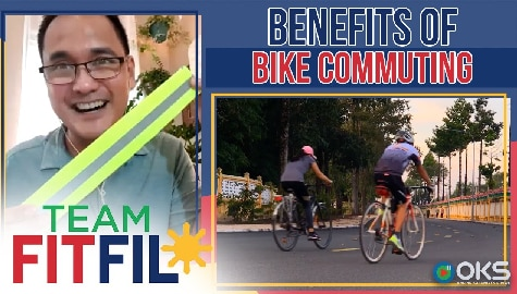 Benefits of Bike Commuting | Team FitFil Episode 23 Thumbnail