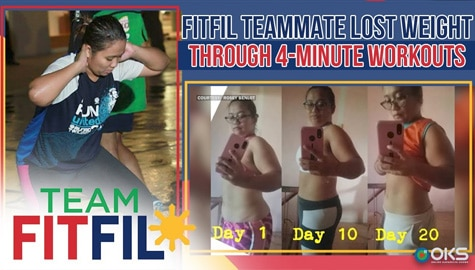 FitFil Teammate shares how she lost weight with our 4-Minute Workouts! | Team FitFil Episode 27 Thumbnail