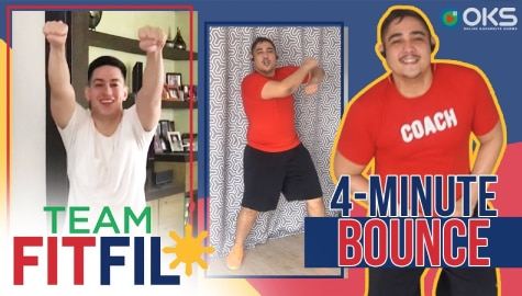 4-Minute Dance Workout with FitFil Teammate CJ Terol | Team FitFil Episode 29 Thumbnail