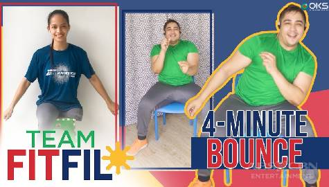 4-Minute Bounce Chair with Para-OCR FitFil Teammate Lairca | Team FitFil Episode 33 Image Thumbnail