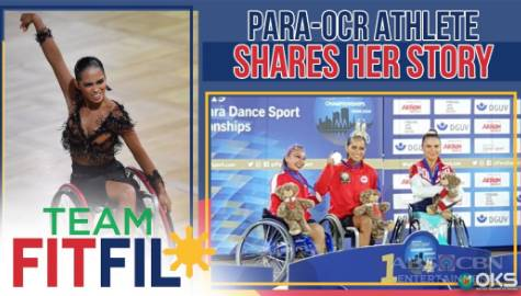 Para-OCR Athlete FitFil Teammate shares her story | Team FitFil Episode 34 Image Thumbnail