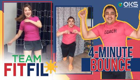 4-Minute Bounce for Women with PCOS | Team FitFil Episode 35 Image Thumbnail