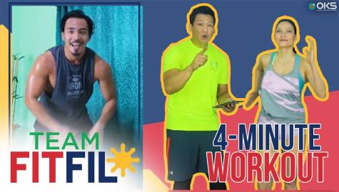4-Minute Workout for Women with PCOS | Team FitFil Episode 35 Image Thumbnail