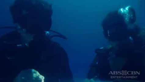 Kai, tinuruan mag scuba diving si Alex | Almost Paradise Thumbnail