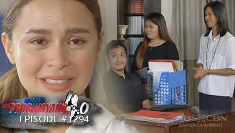 Ang Probinsyano: Alyana, nagpaalam sa kanyang mga kasamahan sa trabaho | Episode # 1294 Image Thumbnail
