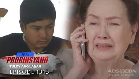 Ang Probinsyano: Lola Flora, kinamusta ang kalagayan ni Cardo | Episode # 1313 Image Thumbnail