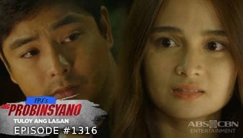 Ang Probinsyano: Clarice, nangako na hindi iiwan si Cardo | Episode # 1316 Image Thumbnail